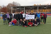 Осенняя погода подарила любителям мини-футбола отличное настроение