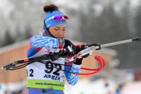 Татьяна Акимова - победитель спринта на кубке IBU!